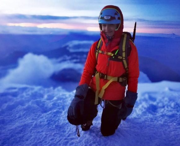 An MYP student became the youngest woman to climb mountain Aconcagua